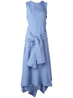 платье с завязкой спереди Sportmax