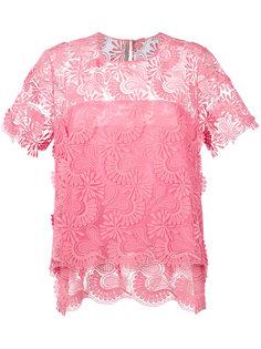 двухслойная блузка Ermanno Scervino