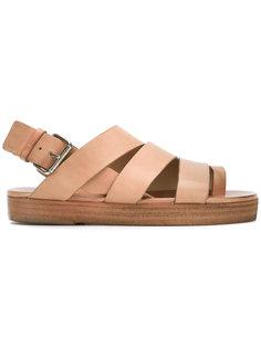 сандалии из ремешков Marsèll