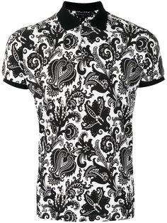 футболка-поло с принтом пейсли  Etro