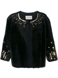 bordered jacket  Yves Salomon