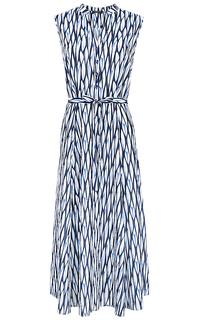 Платье с поясом LE Monique