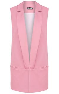 Розовый жилет LE Monique