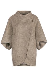 Бежевое пальто LE Monique