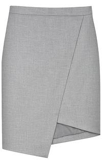 Асимметричная юбка La Reine Blanche