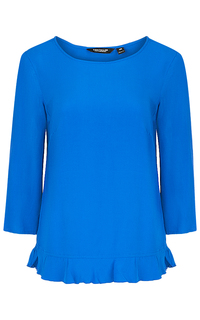 Голубая блузка Tom Tailor