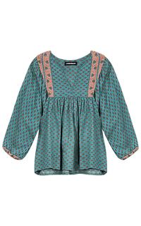 Рубашка с вышивкой La Reine Blanche