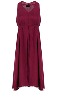 Бордовое платье La Reine Blanche
