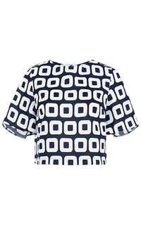 Укороченная блузка La Reine Blanche