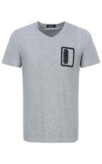 Серая футболка Al Franco