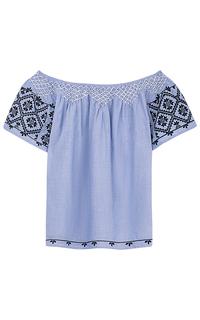 Блузка с открытыми плечами Pepe Jeans London