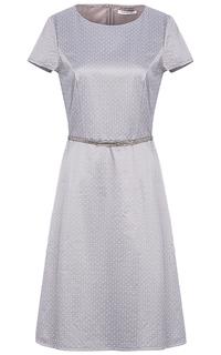 Атласное платье с поясом Betty Barclay