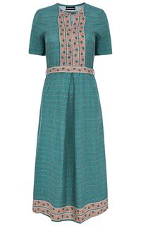 Платье с узором La Reine Blanche