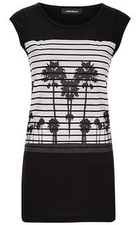 Удлиненная футболка La Reine Blanche