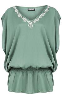 Блузка с вышивкой La Reine Blanche