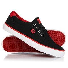 Кеды кроссовки низкие DC Council Tx Black/Red/White