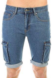 Шорты джинсовые Запорожец Pocket Denim Short Zap Regular Flex Raw Blue