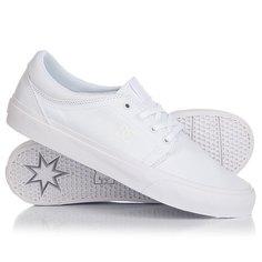 Кеды кроссовки низкие DC Trase Tx White