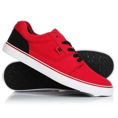 Кеды кроссовки низкие DC Tonik Tx Red/Black/White