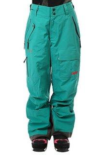 Штаны сноубордические женские Trew Gear The Chariot Bib Emerald