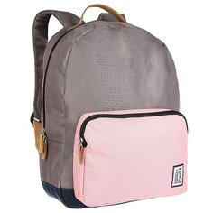 Рюкзак городской The Pack Society Classic Backpack Charcoal/Pink/Midnight Blue