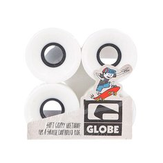 Колеса для скейтборда Globe Bantam St Wheel White/Black 59mm 83A
