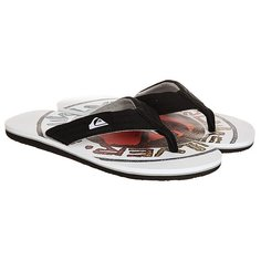 Вьетнамки Quiksilver Molokai Layback Black/White/Red