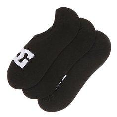 Носки низкие DC No Sho 6 3pk Black