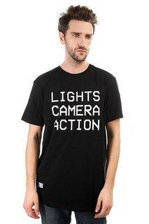 Футболка K1X Lights Camera Action Tee Black