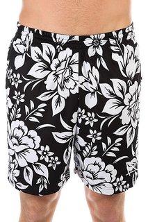 Шорты классические K1X Hawaii Gnarly Shorts Black/White