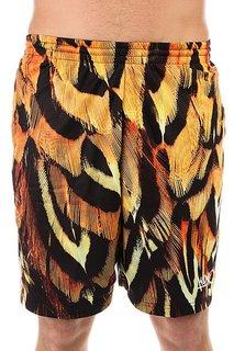 Шорты классические K1X Feather Gnarly Shorts Orange/Black