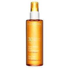 CLARINS Солнцезащитное масло-спрей для тела и волос SPF 30 150 мл