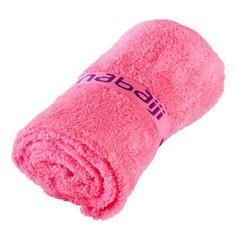Очень Мягкое Полотенце Из Микрофибры Размера L 80 X 130 См - Неон Розовый Nabaiji