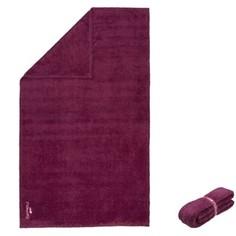 Очень Мягкое Полотенце Из Микрофибры Размер Xl 110 X 175 См - Бордовый Nabaiji