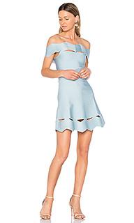 Облегающее платье с зигзагообразными вырезами livia - LOLITTA