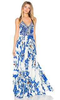 Плиссированное свободное платье - Camilla