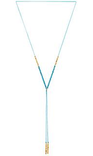 Ожерелье с самоцветом power - gorjana