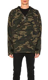 Куртка-пуловер с камуфляжным рисунком - C2H4