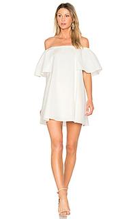 Платье со спущенными плечами - Halston Heritage