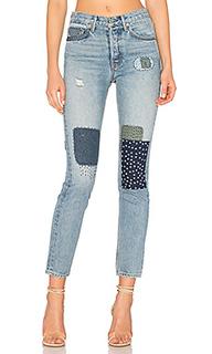 Облегающие джинсы с высокой посадкой karolina - GRLFRND