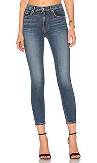 Изящные супер стрейчевые узкие джинсы с высокой талией kendall - GRLFRND