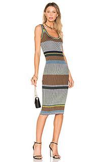Вязаное миди платье - Diane von Furstenberg