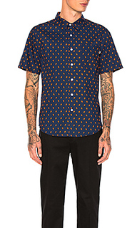 Mini paisley button down - Stussy