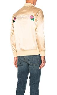 Атласная куртка california - Stussy