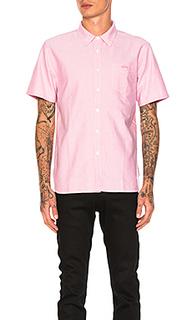 Классическая рубашка на пуговицах oxford - Stussy
