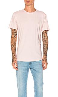 Классическая футболка со скругленным подолом - JOHN ELLIOTT