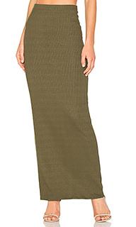 Прямая макси юбка lulu - LA Made