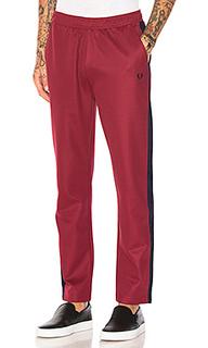 Спортивные брюки с контрастными полос - Fred Perry