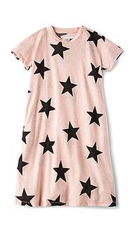 Трапециевидное платье star - Nununu