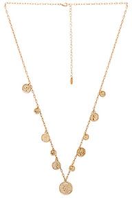 Ожерелье с монетами на подвесе - Ettika